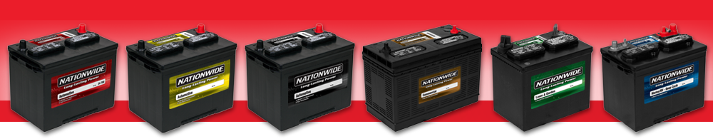 Nationwide™ Automotive Batteries